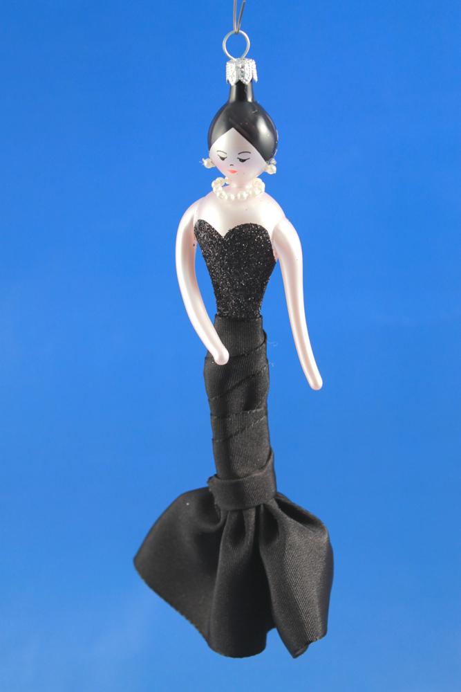De Carlini Haute Couture Lady In Black Ornament The