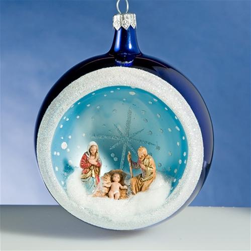 De Carlini Italian Glass Ornaments