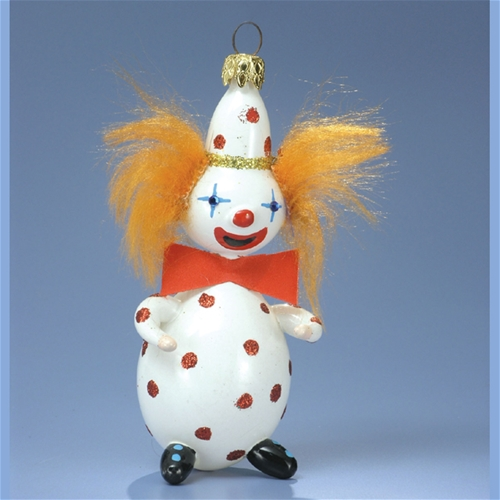 ... Clown Christmas Ornament. Other products by De Carlini Italian Ornaments - De Carlini Red Hair Clown Christmas Ornament The Cottage Shop