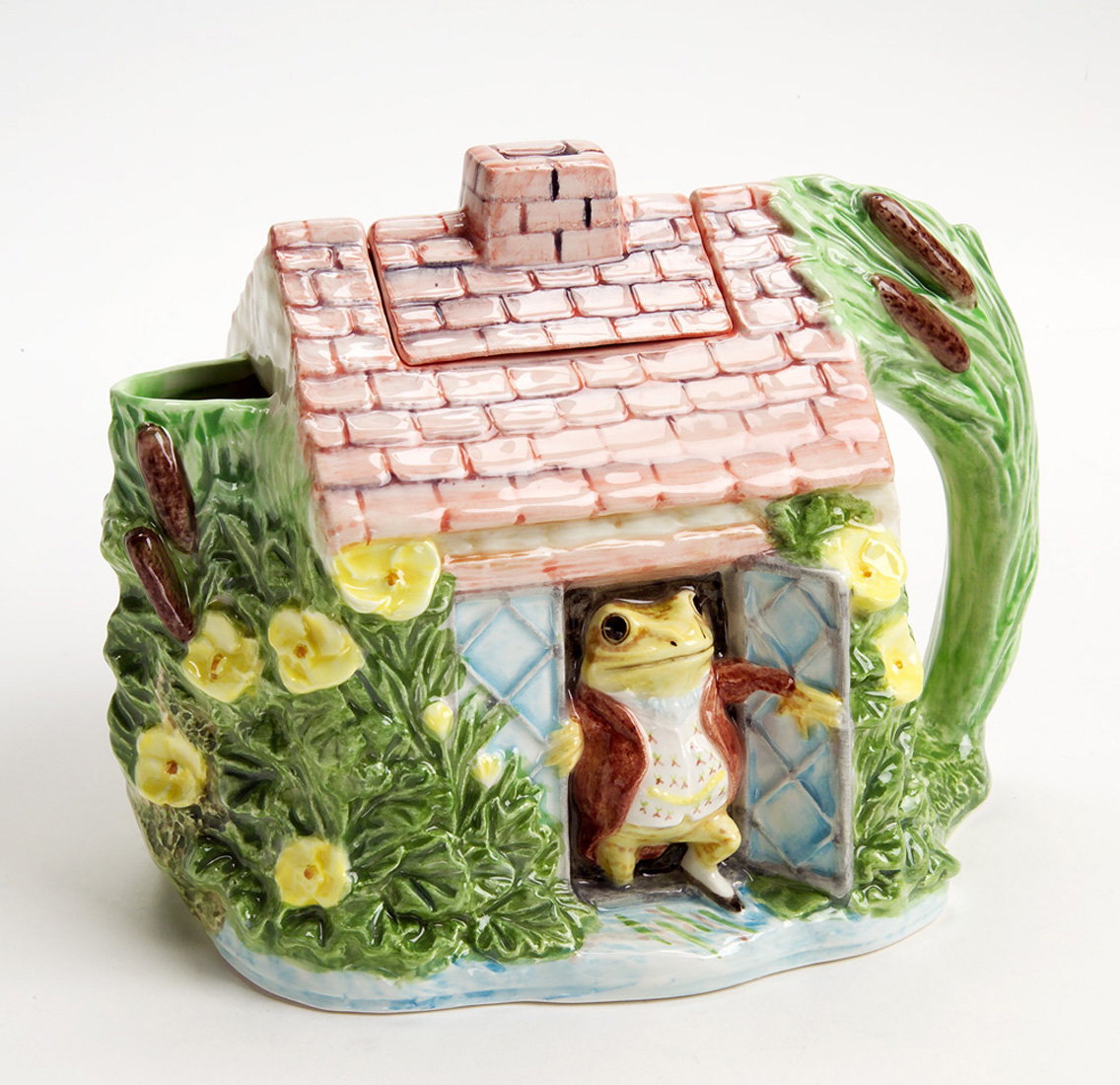 Beatrix Potter Jeremy Fisher Teapot The Cottage Shop