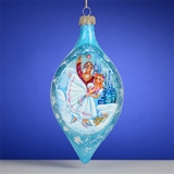 Russian Glass Christmas Ornaments